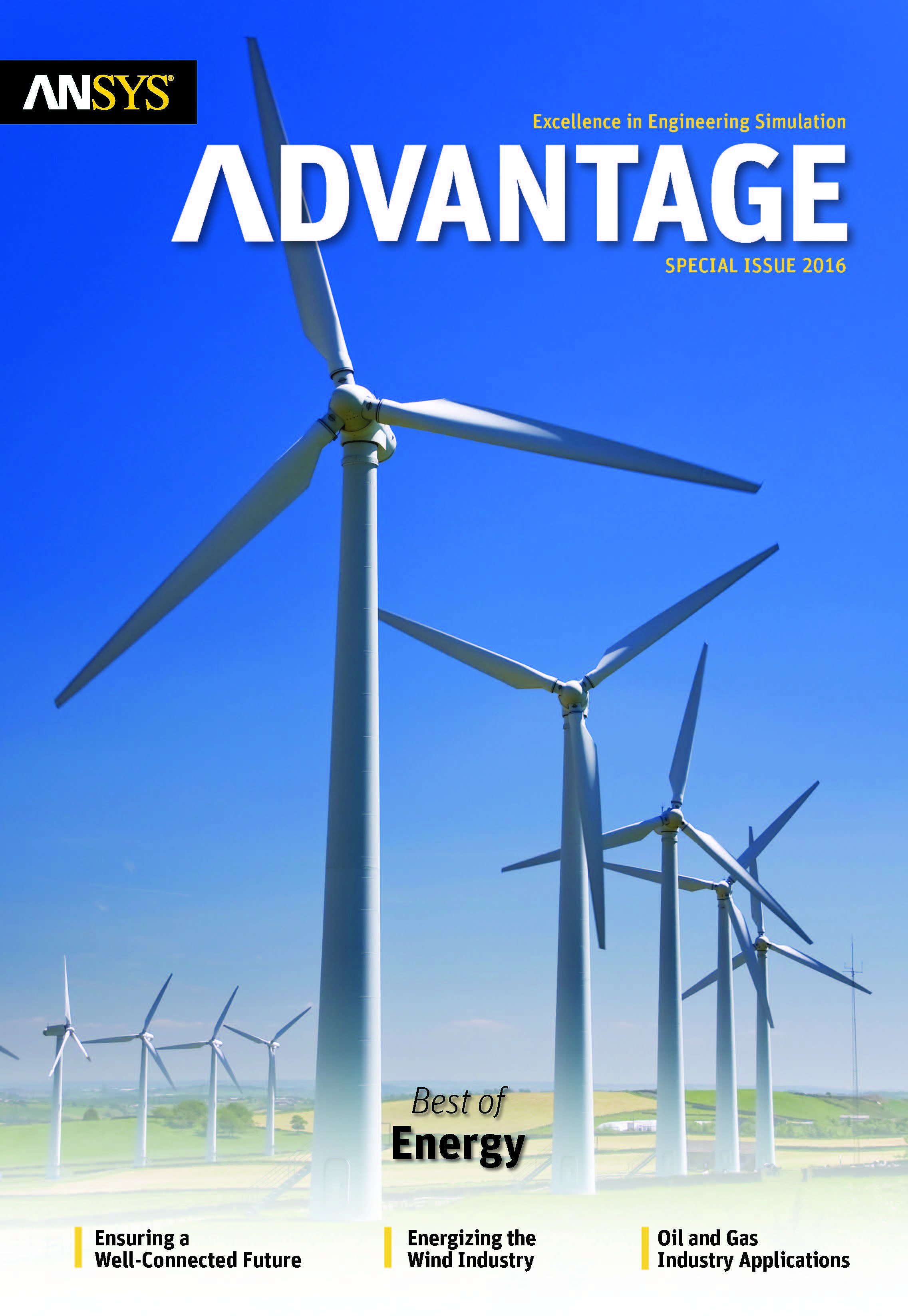 ANSYS Advantage Best of Energy. Special ISSUE 2016