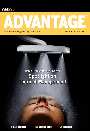 Caso de Grupo SSC - ANSYS Advantage SPOTLIGHT ON THERMAL MANAGEMENT. Volume X, Issue 1, 2016