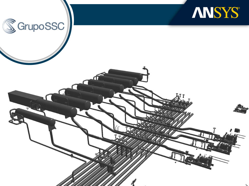 Caso de Grupo SSC - PVT module coupled with ANSYS-CFD